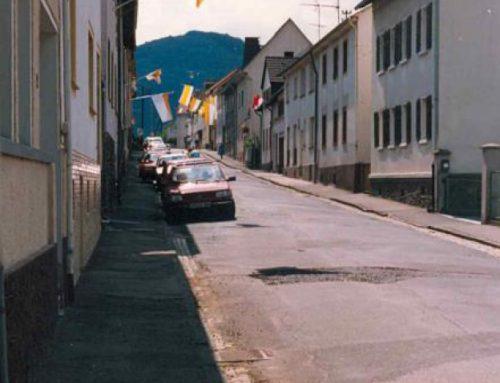 Bahnhofstraße vor der Sanierung